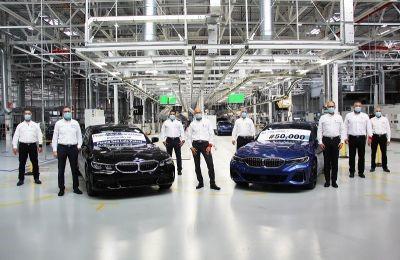 EN SLP, BMW GROUP CELEBRA 50 MIL UNIDADES Y ESTRENA VEHÍCULO HÍBRIDO