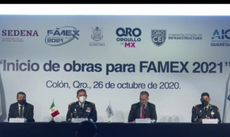 INICIAN OBRAS EN AIQ PARA FAMEX 2021