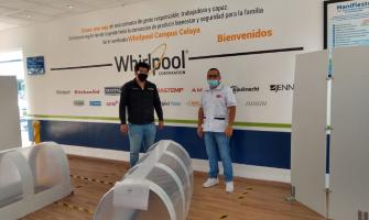 WHIRLPOOL DONA MATERIAL MÉDICO Y ELECTRODOMÉSTICOS ANTE COVID-19