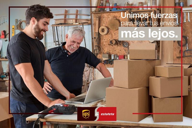 UPS Y ESTAFETA AMPLÍAN SU ALIANZA COMERCIAL