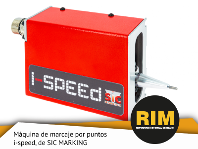 I-SPEED, LA MÁQUINA DE MARCAJE POR PUNTOS INTEGRABLE