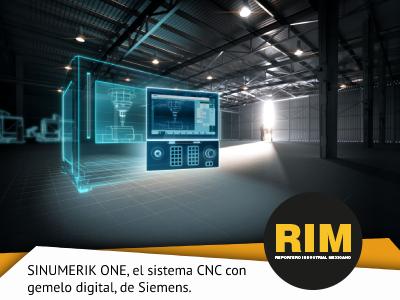 SINUMERIK ONE, EL SISTEMA CNC DEL FUTURO