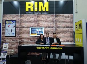 RIM PRESENTE EN EXPO MANUFACTURA 2018