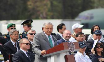 EL PRESIDENTE DE MÉXICO INAUGURA FAMEX