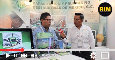 Capacitaciones y pruebas no destructivas en FAMEX 2019
