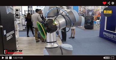UR16e, el nuevo cobot que Universal Robots presentó en Expo Manufactura 2020