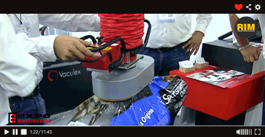 Caesa presenta sistema Vaculex en Expo Manufactura 2020.