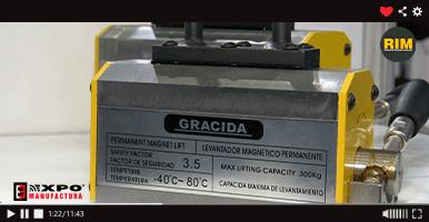 Gracida exhibe equipos magnéticos en Expo Manufactura 2020