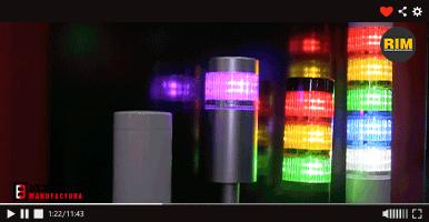 Soluciones para señalización exhibidas por Patlite en Expo Manufactura 2020
