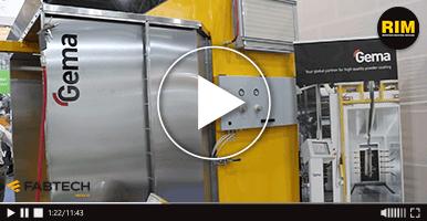 Tecnología de recubrimiento electrostático con GEMA en FABTECH 2019