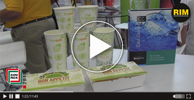 Proveedora Papelera KINO & KRISHKA en Expo Pack Guadalajara 2019, productos 100% Biodegradables