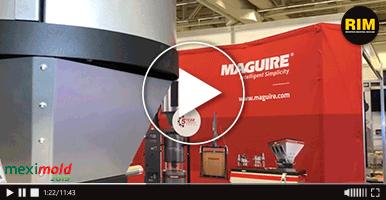 Maguire expone sus equipos para procesamiento de plástico en Expo Meximold 2019