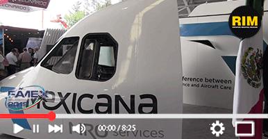 Reparación y mantenimiento de naves con Mexicana MRO
