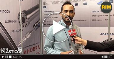 RIS Husillos y Cañones ofrece servicios de reparación de husillos en Expo Plásticos 2020