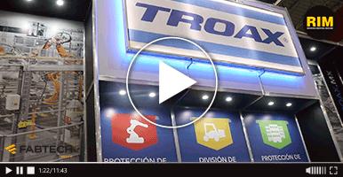 Seguridad industrial de Troax en FABTECH 2019