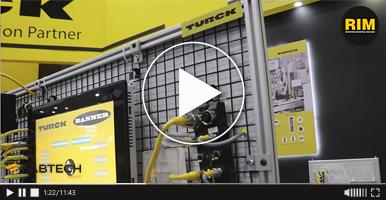 Equipo para automatización TURCK en FABTECH 2019