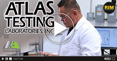 Laboratorio de pruebas Atlas Testing Laboratories presente en Fastener Fair México 2019
