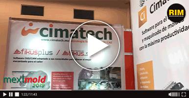 Cimatech ofrece softwares para diseño de moldes en Expo Meximold 2019