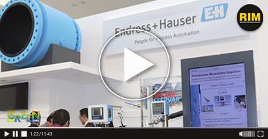 Instrumentos de medición Endress+Hauser en The Green Expo