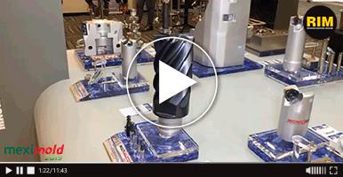 Iscar fabrica herramientas de corte industrial en Expo Meximold 2019