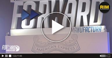 American Express en el foro FORWARD MANUFACTURA