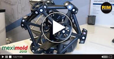 Creaform exhibe sus tecnologías de escaneo portátiles en Expo Meximold 2019