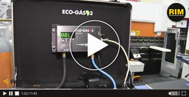 Equipo para ahorro de gas ACAT en FABTECH 2019