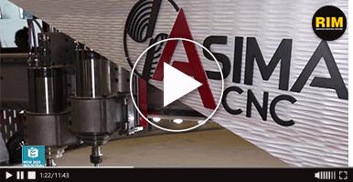 Router CNC, de Asima, en MEM Industrial 2020