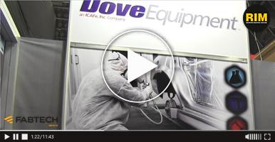 Equipo para la aplicación de fluidos para la industria automotriz Dove Equipment, FABTECH 2019