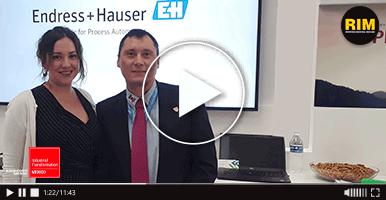 Endress + Hauser presenta sus equipos con tecnología Bluetooth en ITM 2019