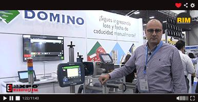 Domino exhibe su tecnología para marcado de productos
