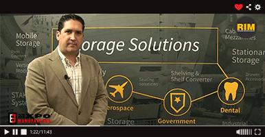 Vidmar ofrece soluciones para ahorro de espacio en Expo Manufactura 2020