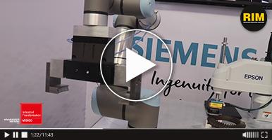 Robots colaborativos de Grupo Kopar en ITM 2019