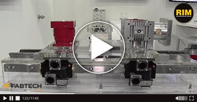 Automatización industrial de Güdel en FABTECH 2019