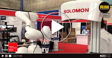 Gurego presenta sus robots colaborativos en IT 2019