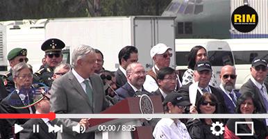 Andrés Manuel López Obrador inaugura FAMEX 2019