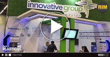 Báscula inteligente presentada por Innovative Group en Expo Plásticos 2020