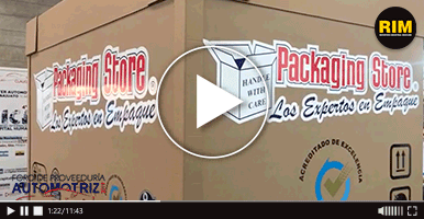 Packaging Store exhibe sus empaques para el sector en Foro de Proveeduría Automotriz 2019