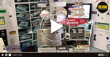 Identificaciones de maquinaria fabricadas por Placas y etiquetas