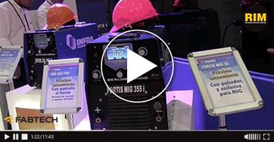 SIISA presenta máquinas de soldar de alta tecnología en FABTECH 2019