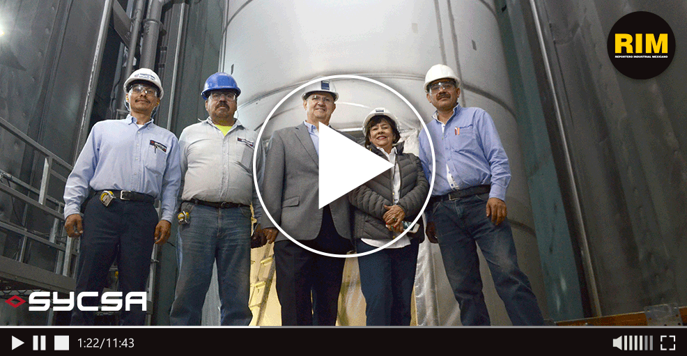 Personal calificado para construir silos industriales