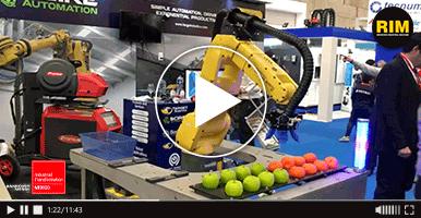 Robots industriales Target Robotics en ITM 2019