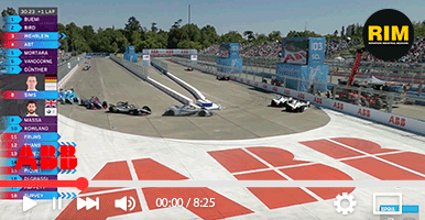 Fastest e-vehicles meet record temperatures at ABB Formula E race in Santiago
