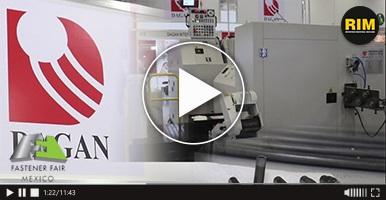 Fastener Fair México 2019, DAGAN nos presenta su equipo para la manufactura de tornillos.