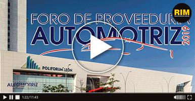 Foro de Proveeduría Automotriz 2019.