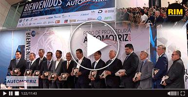 Inauguración de la sexta edición del Foro de Proveeduría automotriz
