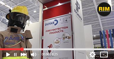 ISECI productos contra incendio en FAMEX 2019
