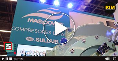 Compresores Maqpower presentes en Expo Pack Guadalajara 2019