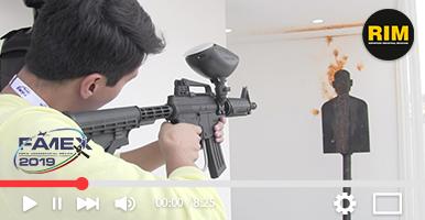 Simulación de tiro en Famex 2019 con IBN