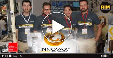 Empresa mexicana Innovax muestra sistemas de sujeción hidráulica en ITM 2019